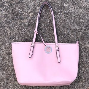 NEW YORK & COMPANY light pink tote
